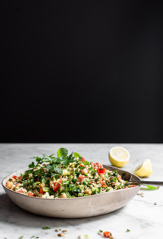 Bulgur wheat Tabbouleh Salad