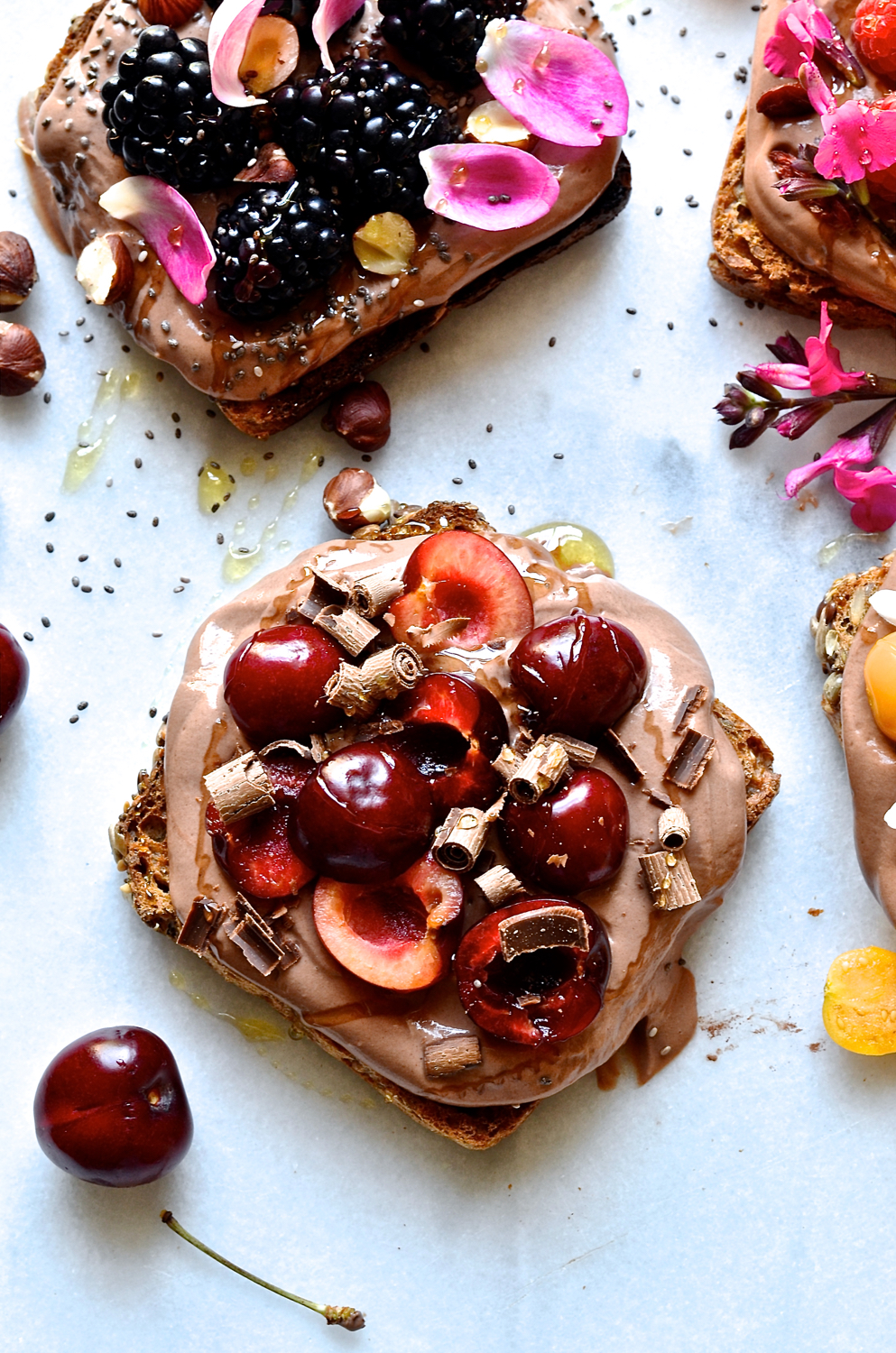 Toppings for toast