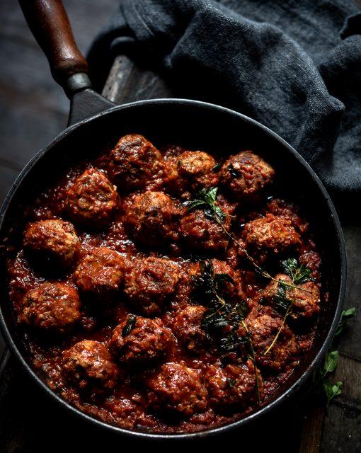 Ottolenghi's Ricotta Meatballs