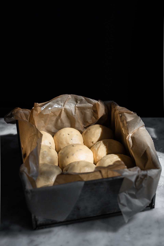 Buttery Brioche Mosbolletjies