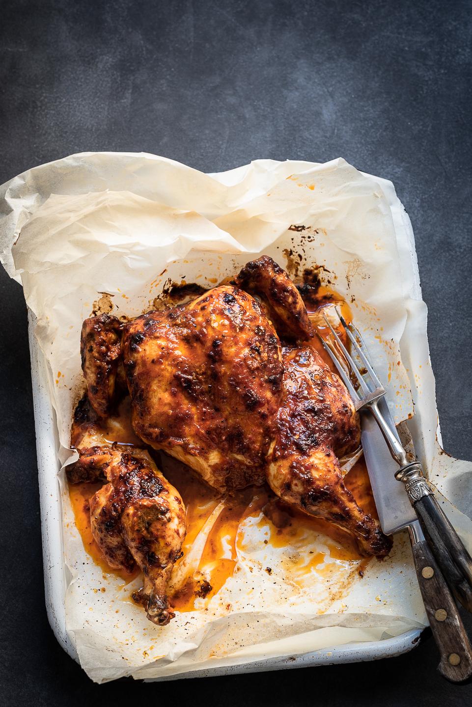 Spatchcock Chicken Prego